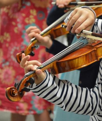 petits violonistes
